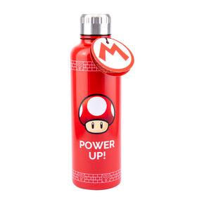 Super Mario Mushroom Water Bottle – Red,