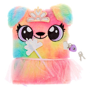 Alexa the Puppy Dress Up Plush Lock Diary,
