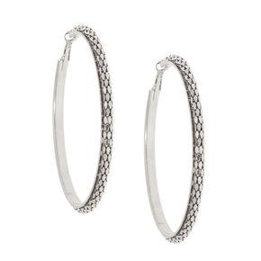 92f9e642f6ea0 Créoles, toutes les tailles d anneaux boucles d oreilles   Claire s FR