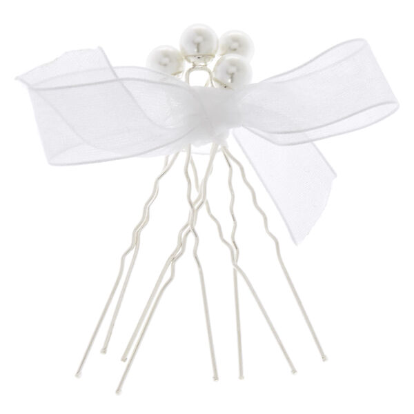 Claire's - pearl hair pins - 1