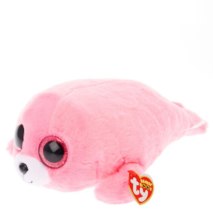 cfde4bbb7eb TY Beanie Boo Medium Pink Pierre the Seal
