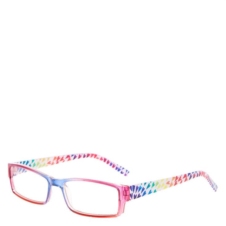 Claire's Club Rainbow Hearts Rectangle Frames