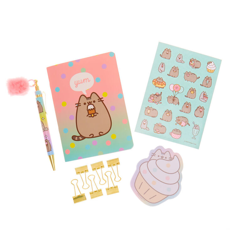 Pusheen® Stationery Set – Pink,