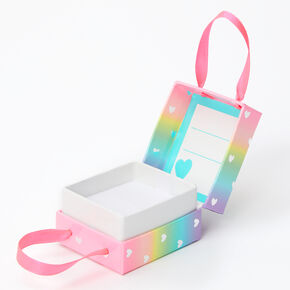 Small Rainbow Hearts Gift Box,