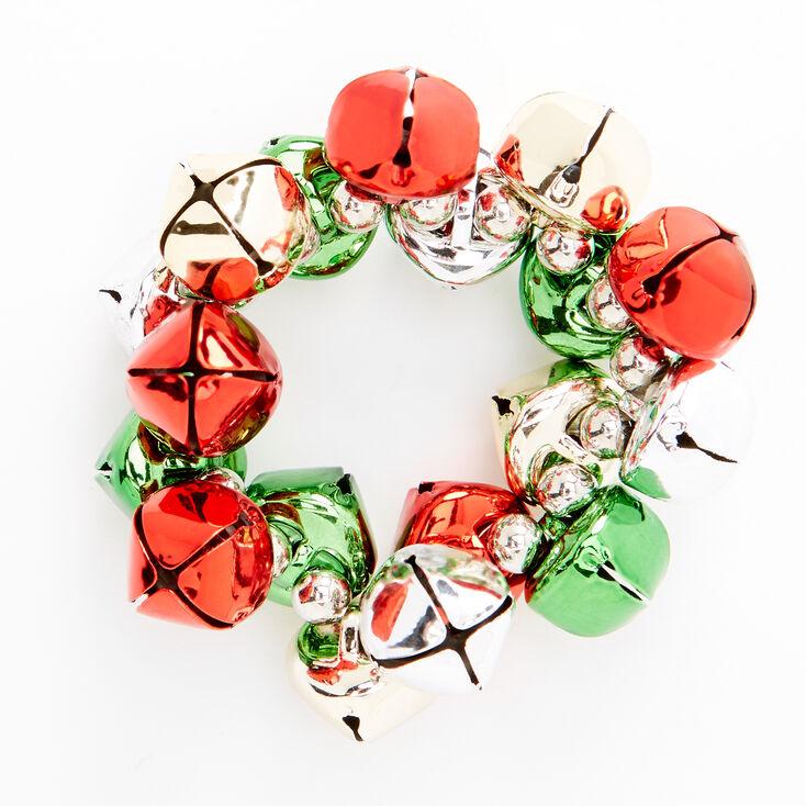 Christmas Jingle Bell Stretch Bracelet,
