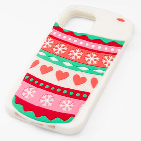 Holiday Cup Silicone Phone Case - Fits iPhone® 12/12 Pro,