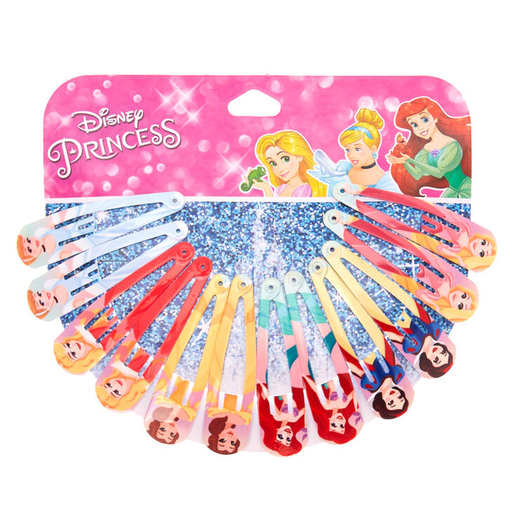 ©Disney Princess Snap Hair Clips - 12 Pack,