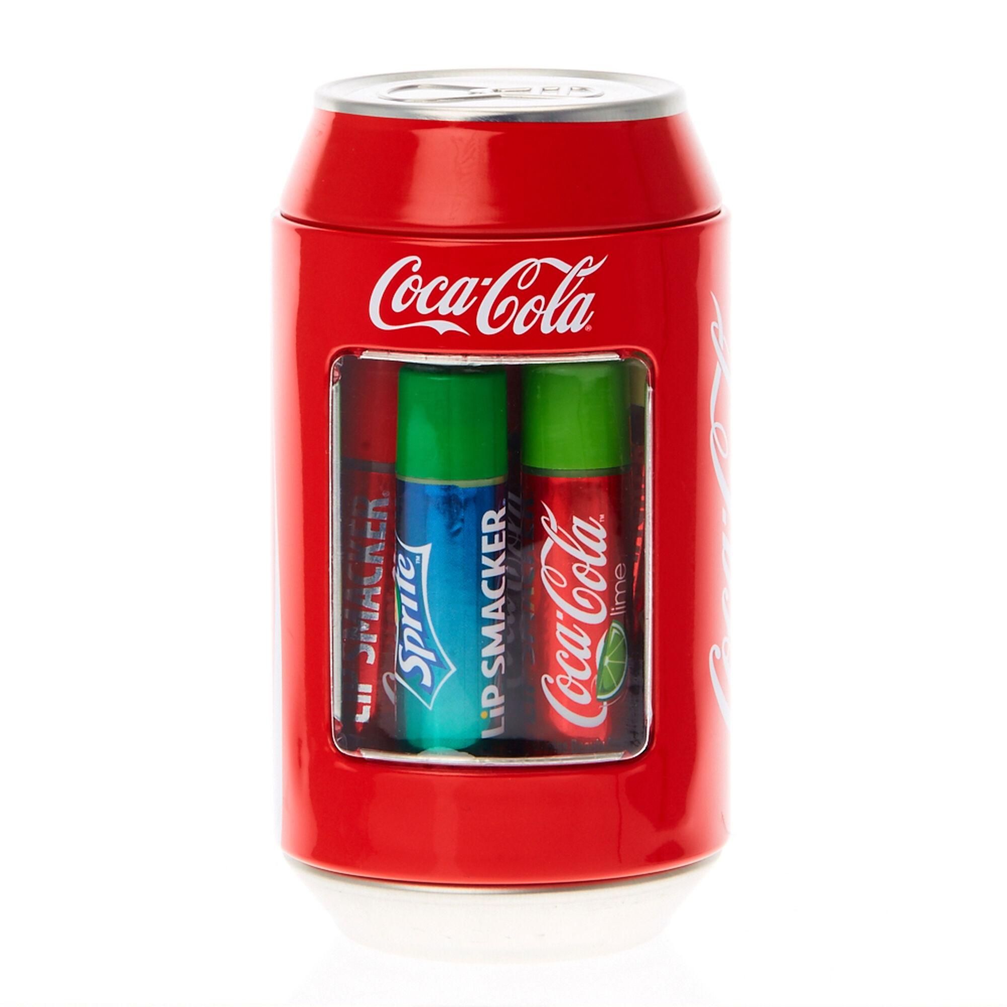 Lip Smacker Coca Cola 174 Flavored Lip Balm Can Claire S Us