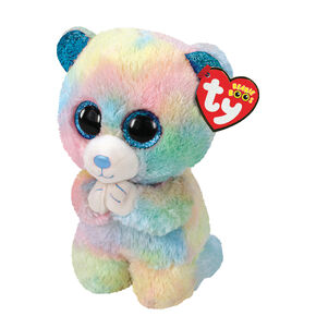 Ty® Beanie Boo Small Hope the Bear Soft Toy,