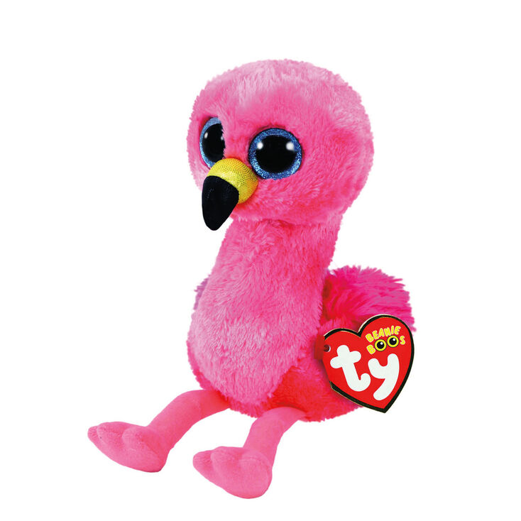 Ty Beanie Boo Small Gilda the Flamingo Soft Toy,
