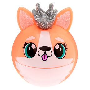 Queenie the Corgi Lip Gloss Pot - Peach,