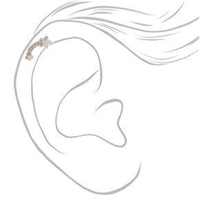 Silver 16G Meteor Shower Cartilage Stud Earring,