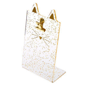Glitter Cat Ear Instax Photo Holder - Gold,