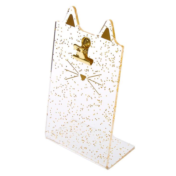 Porte-photo pour Instax avec oreilles de chat - Couleur doré,