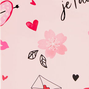 Small Paris Gift Bag - Pink,
