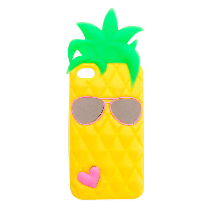 separation shoes 0f38d 2e10a Silicone Pineapple Phone Case