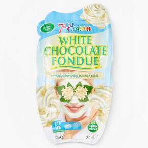 Masque hydratant et nourrissant fondue au chocolat blanc7thHeaven,