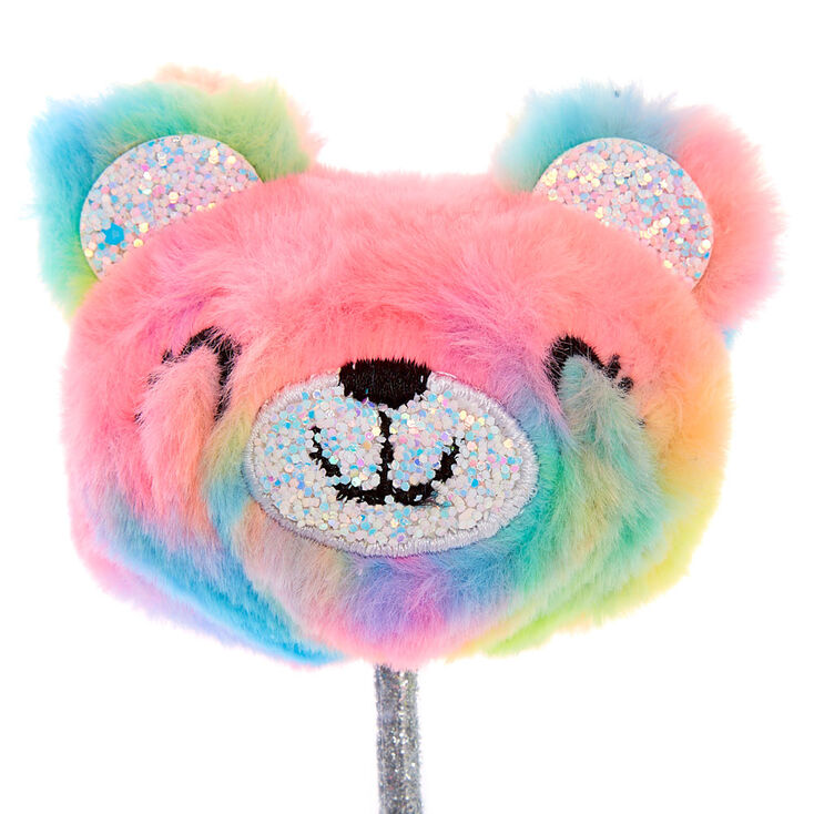 Sugar the Bear Rainbow Plush Pen,