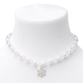 Claire's Club Beaded Snowflake Jewelry Set - 3 Pack,