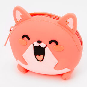 Hamster Jelly Coin Purse - Coral,