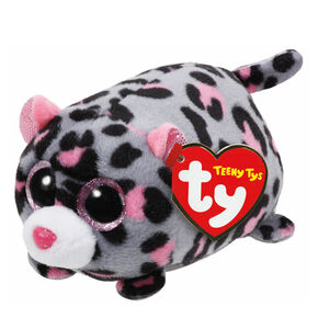 Teeny Ty Miles the Leopard Plush Toy,