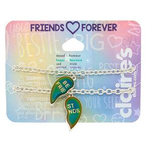 Mood Heart Chain Friendship Bracelets - 2 Pack,