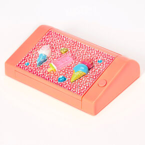 Ice Cream Bling Lip Gloss Set - Orange,