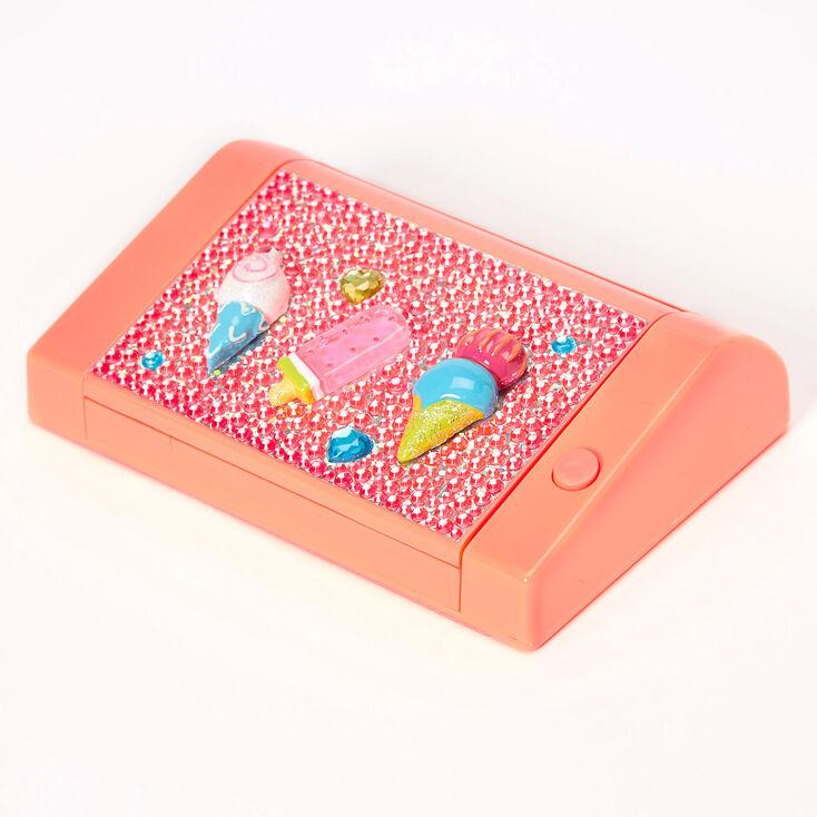 Ice Cream Bling Lip Gloss Set - Orange,