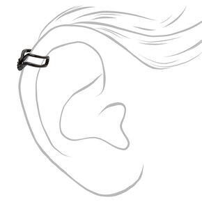 Manchettes d'oreilles texturées noires - Lot de 3,