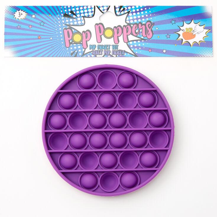 Pop Poppers Fidget Toy - Purple,