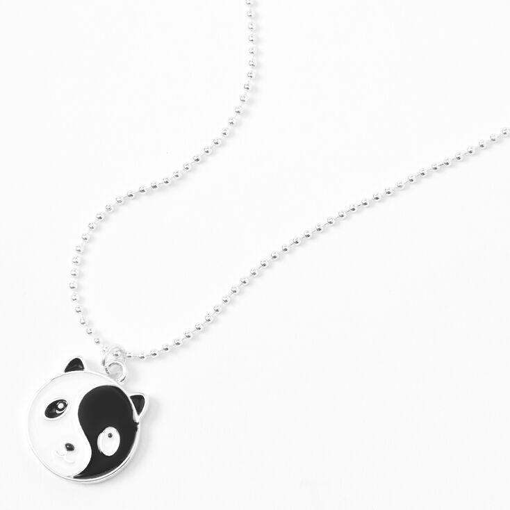 Yin Yang Panda Pendant Necklace,