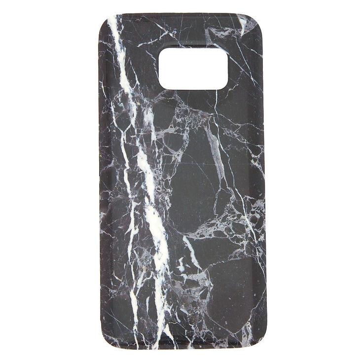 super popular a2146 d7d17 Black Marble Phone Case - Fits Samsung Galaxy S7