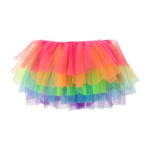 Rainbow Poufy Tutu,