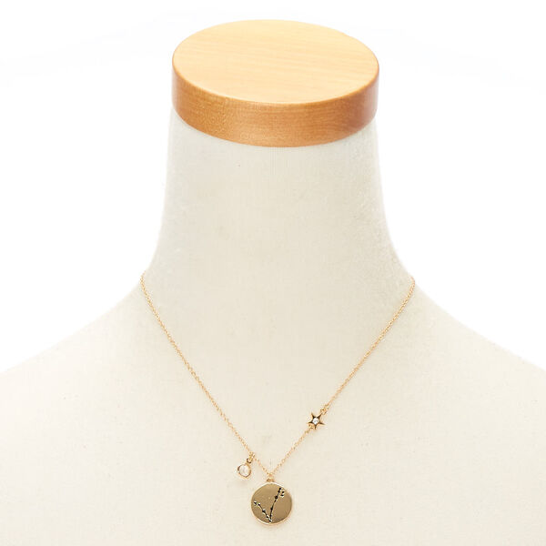 Claire's - zodiac pendant necklace - 2