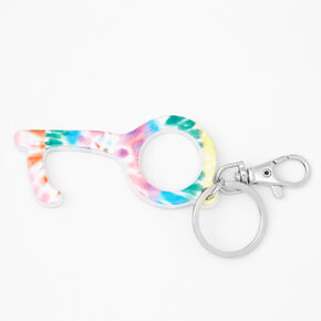 « Clean key » tie-dye arc-en-ciel,