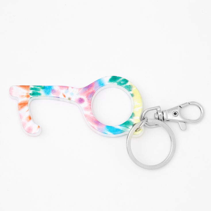 Rainbow Tie-Dye Clean Key,