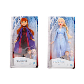 ©Disney Frozen 2 Elsa or Anna Doll – Styles May Vary,