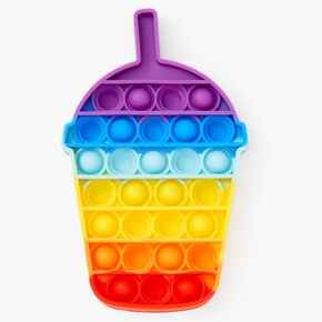 Pop Poppers Ombre Frappuccino Fidget Toy - Rainbow,