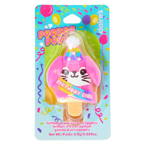 Pucker Pops Birthday Girl Bunny Lip Gloss - Birthday Cake,