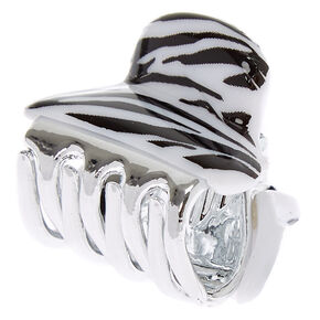 Mini Zebra Hair Claw,