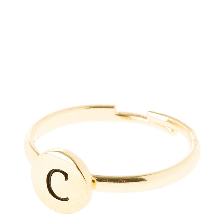 C Initial Letter Ring | Claire's US