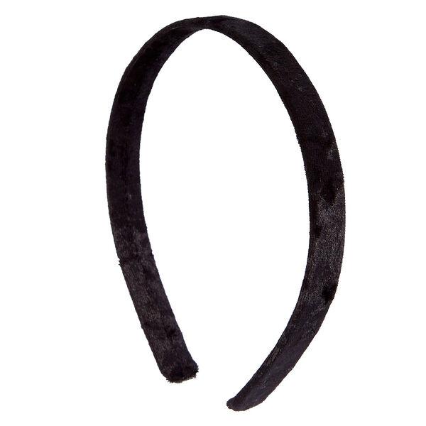 Claire's - velvet headband - 1