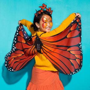 Déguisement papillon monarque - Orange, lot de 2,