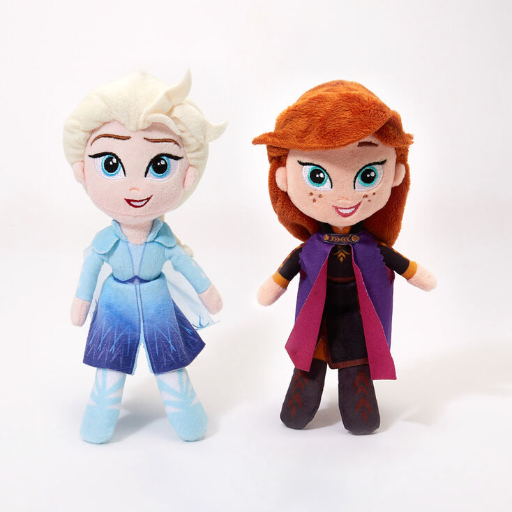 ©Disney Frozen 2 Elsa or Anna Plush Toy – Styles May Vary,