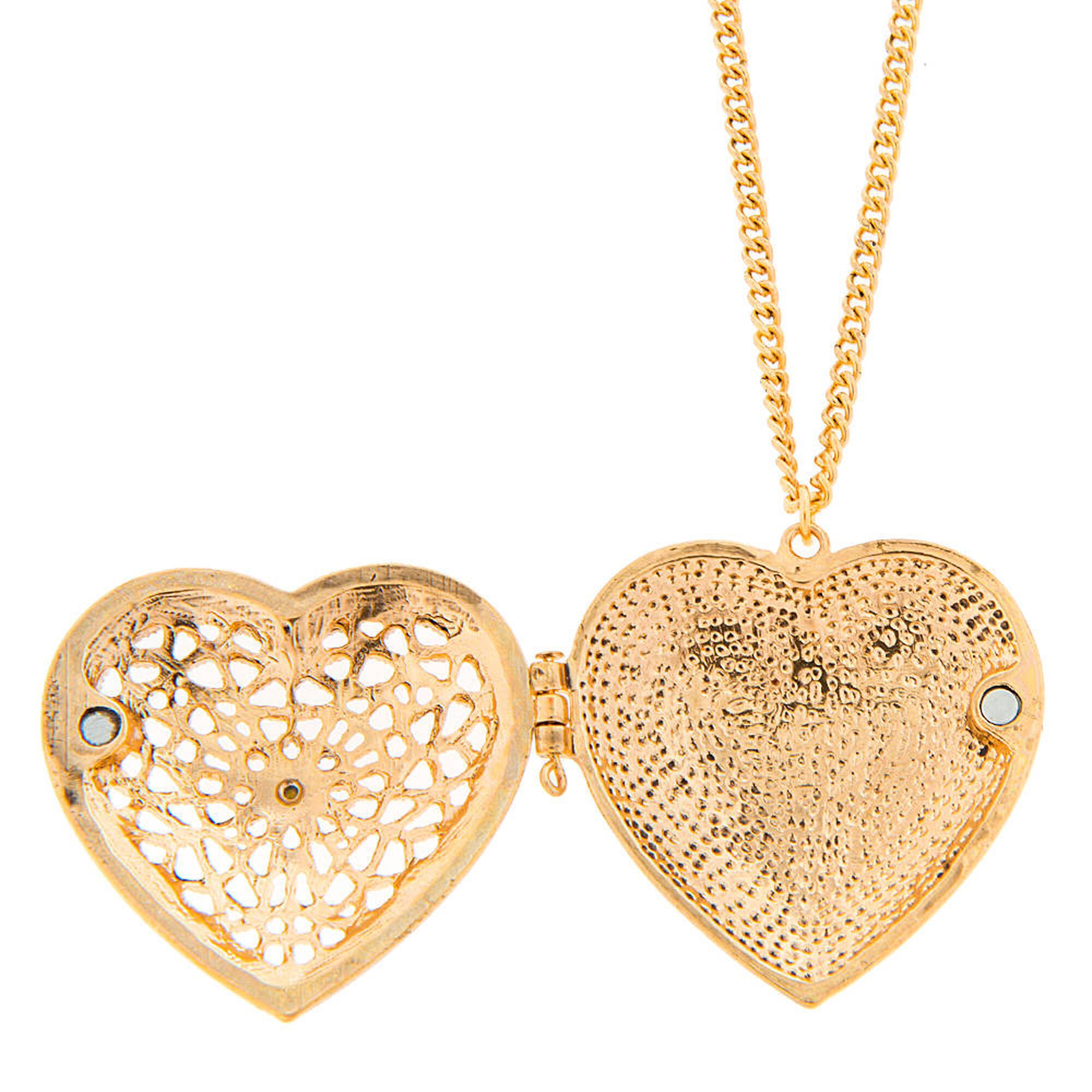 Antique gold crystal accent filigree heart locket pendant necklace antique gold crystal accent filigree heart locket pendant necklace aloadofball Images