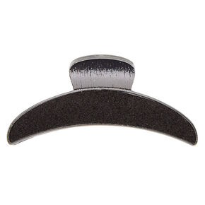 Glitter Hair Claw - Black,