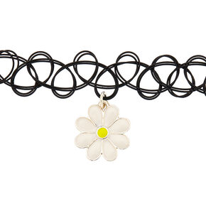 Daisy Tattoo Choker Necklace,