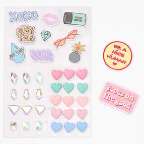 Positive Vibes Only Sticker Set,