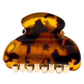 Mini Tortoiseshell Hair Claw,
