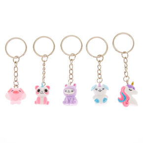 Best Friends Cuddle Club Keychains - 5 Pack,